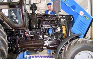 Ремонт тракторов на выезде в Москве и области круглосуточно