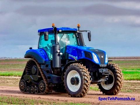 Диагностика трактора New Holland на выезде