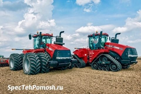 Диагностика трактора Кейс на выезде в Москве
