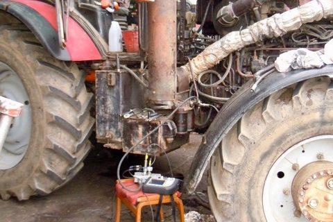 Диагностика трансмиссии трактора