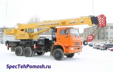 Ремонт автокрана Галичанин на выезде в Москве