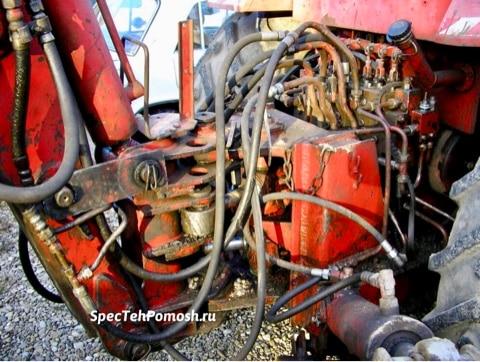 Ремонт гидравлики тракторов на выезде