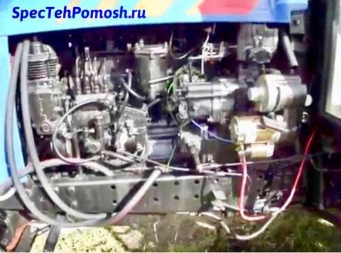 Ремонт топливной системы тракторов на выезде
