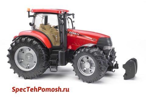 Ремонт трактора Case на выезде в Москве