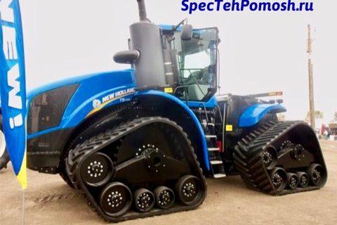 Ремонт трактора New Holland на выезде в Москве