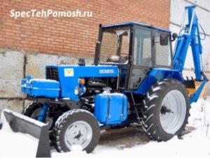 Ремонт тракторов ЮМЗ на выезде в Москве