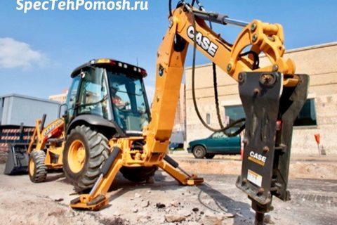Ремонт экскаваторов Case на выезде в Москве