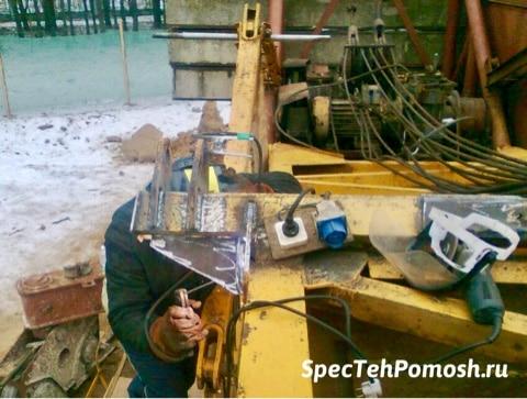 Ремонт электрики автокрана на выезде в Москве